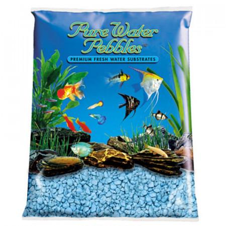 Pure Water Pebbles Aquarium Gravel - Heavenly Blue alternate img #1