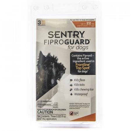 Sentry FiproGuard for Dogs - Small alternate img #1