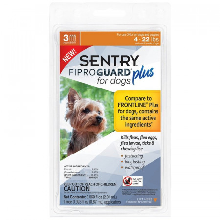 Sentry Fiproguard Plus IGR for Small Dogs & Puppies alternate img #1