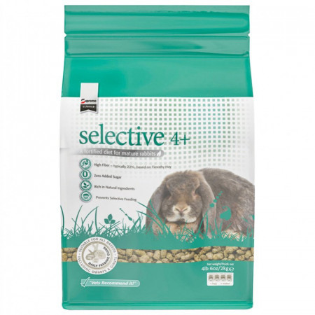 Supreme Selective 4+ Mature Rabbit Food alternate img #1