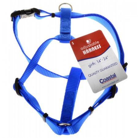 Tuff Collar Nylon Adjustable Harness - Blue alternate img #1