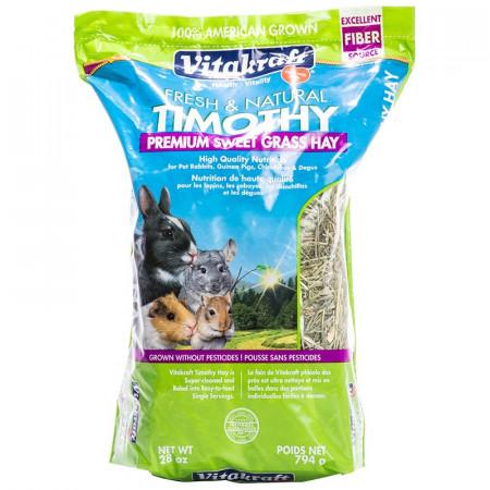Vitakraft Timothy Premium Sweet Grass Hay alternate img #1