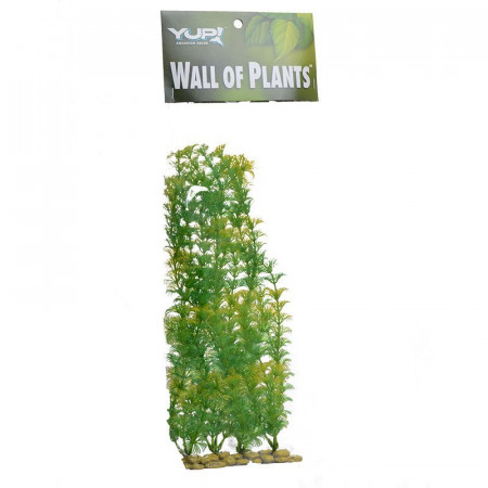 Yup Aquarium Decor Wall of Plants - Yellow & Green alternate img #1