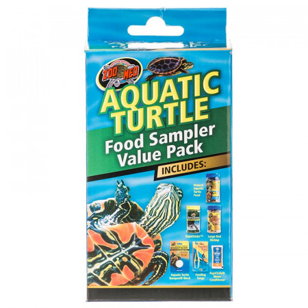Zoo Med Aquatic Turtle Food Sample Value Pack alternate img #1