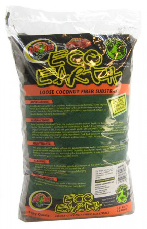 Zoo Med Eco Earth Loose Coconut Fiber Substrate alternate img #1