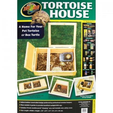Zoo Med Tortoise House Indoor/Outdoor alternate img #1