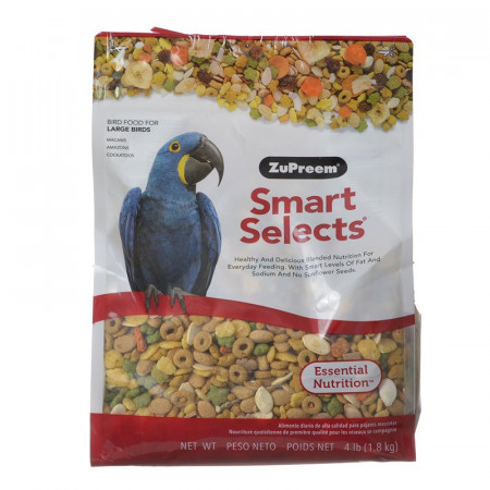 ZuPreem Smart Selects Bird Food for Large Birds alternate img #1