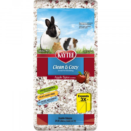 Kaytee Clean & Cozy Small Pet Bedding Apple Spice Scented alternate img #1