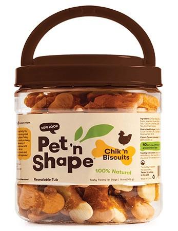 Pet 'n Shape Chik 'n Biscuits Dog Treats alternate img #1