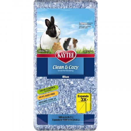 Kaytee Clean & Cozy Small Pet Bedding - Blue alternate img #1