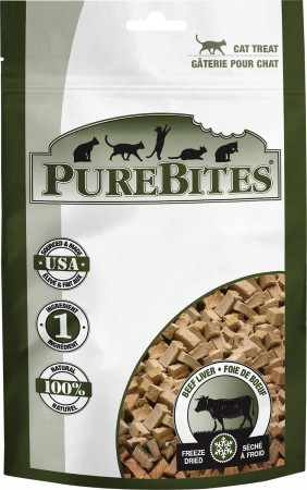 PureBites Beef Liver Freeze Dried Cat Treats alternate img #1