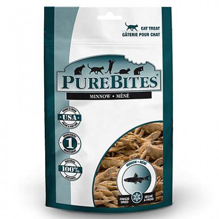 PureBites Minnow Freeze Dried Cat Treats alternate img #1