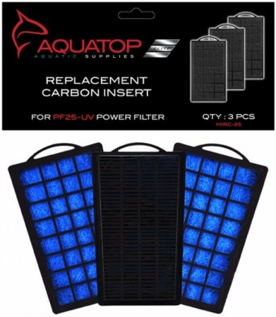 Aquatop Replacement Carbon Insert for PF25-UV Power Filter alternate img #1
