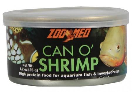 Zoo Med labs food Aquatic Can O' Shrimp alternate img #1