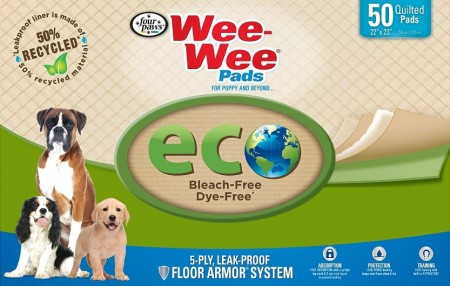 Four Paws Wee Wee Pads Eco Pee Pads for Dogs alternate img #2