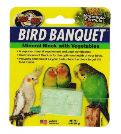Zoo Med Bird Banquet Vegetable Block alternate img #1