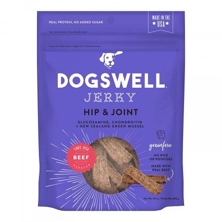Dogswell Jerky Hip & Joint Dog Treats - Beef alternate img #1