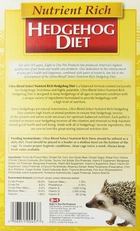 8in1 Pet Ultra Blend Select Nutrient Rich Hedgehog Diet alternate img #2