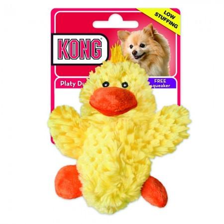 KONG Plush Duck Dog Toy alternate img #1