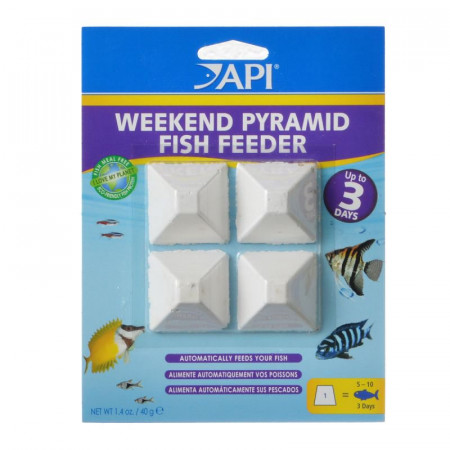 API 3-Day Pyramid Fish Feeder alternate img #1