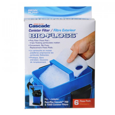 Cascade 700 & 1000 Canister Filter Bio-Floss Replacement Pads alternate img #1