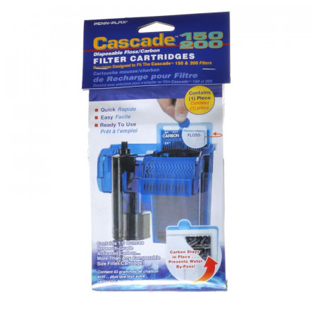 Cascade Disposable Floss/Carbon Filter Cartridges for 150 & 200 Power Filters alternate img #1
