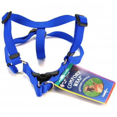 Coastal Pet Comfort Wrap Adjustable Harness - Blue alternate img #1