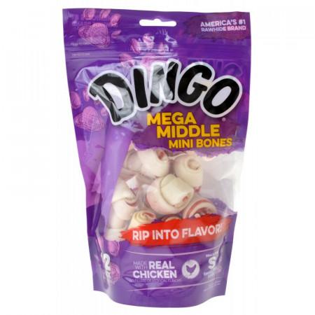 Dingo Mega Middle Mini Bones with Real Chicken alternate img #1