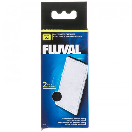 Fluval Underwater Filter Stage 2 Poly/Carbon Cartridges alternate img #1