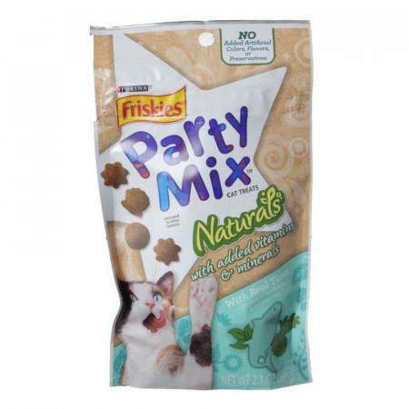 Friskies Party Mix Naturals Cat Treats - Real Tuna alternate img #1