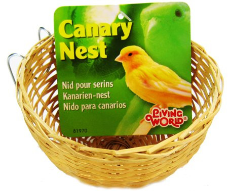 Living World Wicker Canary Nest alternate img #1