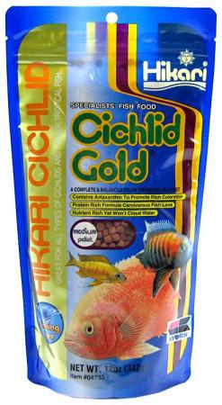 Hikari Sinking Cichlid Gold Medium Pellet Food alternate img #1