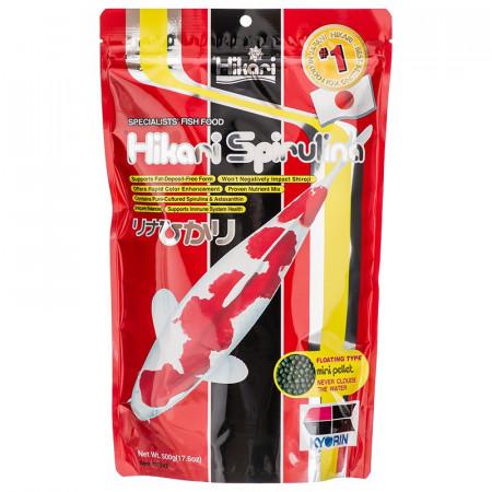 Hikari Spirulina Floating Mini Pellet Koi Food alternate img #1