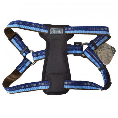 Coastal Pet K9 Explorer Reflective Adjustable Padded Dog Harness - Sapphire alternate img #1