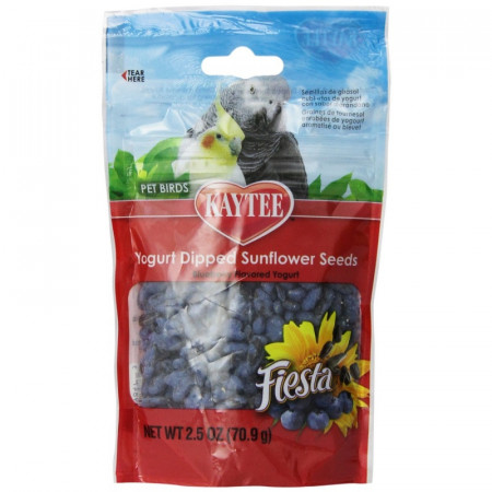Kaytee Fiesta Yogurt Dipped Sunflower Seeds - Blueberry alternate img #1