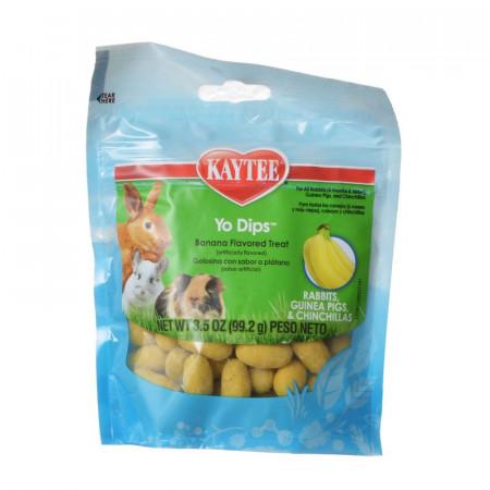 Kaytee Fiesta Yogurt Dipped Treats for Rabbits, Guinea Pigs & Chinchillas - Banana Flavor alternate img #1