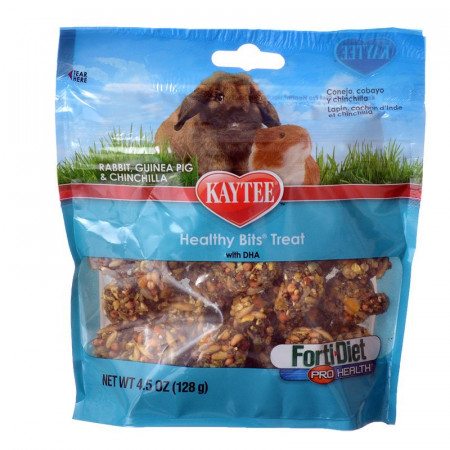Kaytee Forti Diet Pro Health Healthy Bits Treats for Rabbits, Guinea Pigs & Chinchillas alternate img #1