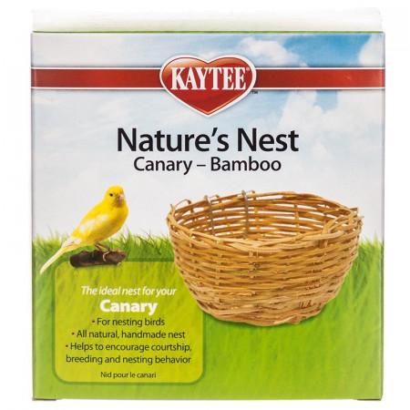 Kaytee Natures Nest Bamboo Canary Nest alternate img #1