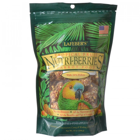 Lafeber Tropical Fruit Nutri-Berries - Parrot Food alternate img #1