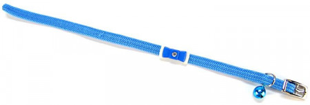 Lil Pals Cat Collar With Bow - Light Blue alternate img #1