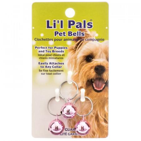 Lil Pals Pet Bells - Pink alternate img #1
