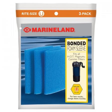 Marineland Rite-Size U Bonded Foam Filter Sleeve alternate img #1