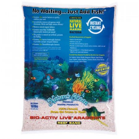 Natures Ocean Bio-Activ Live Aragonite Reef Sand - Samoa Pink alternate img #1
