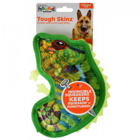 Outward Hound Tough Skinz Chameleon Dog Toy alternate img #1