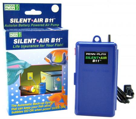 Penn Plax Silent Air B11 Battery Powered Air Pump alternate img #1