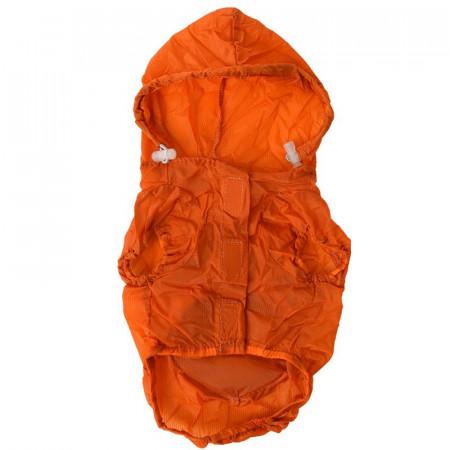 Pet Life Thunder-Paw Waterproof Travel Dog Raincoat - Orange alternate img #1