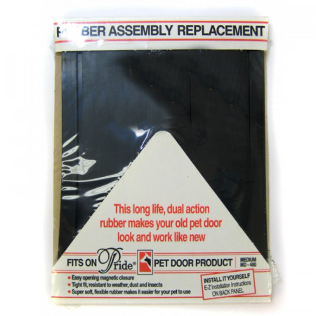 Pride Rubber Assembly Replacement Pet Door Flap alternate img #1
