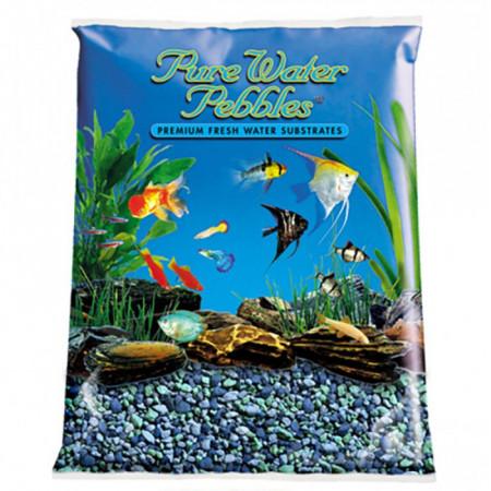 Pure Water Pebbles Aquarium Gravel - Blue Lagoon alternate img #1