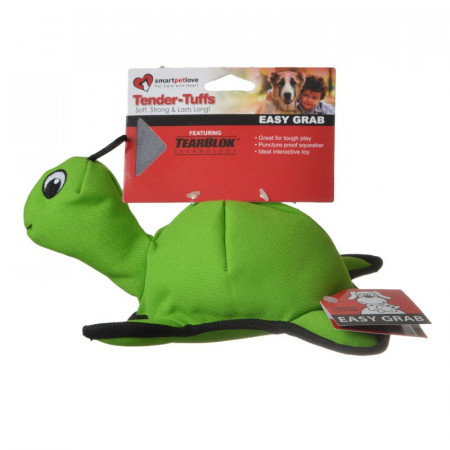 Smart Pet Love Green Turtle Dog Toy alternate img #1