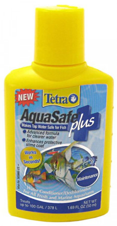 Tetra AquaSafe Plus Water Conditioner alternate img #1